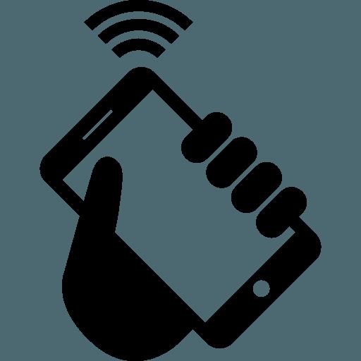 Smartphone en mano Wifi